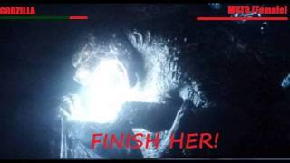Godzilla 2014 Charge Up + Beam SFX