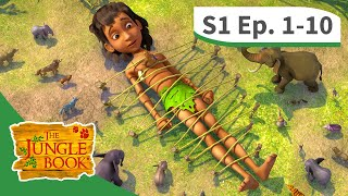 The Jungle Book ☆ Season 1 ☆ FULL Episodes 1 - 10 ☆ 2  HOURS MIX