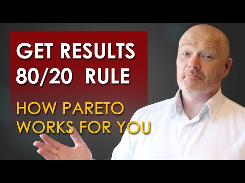 The 80 20 Pareto Principle And How You Can Succeed Online