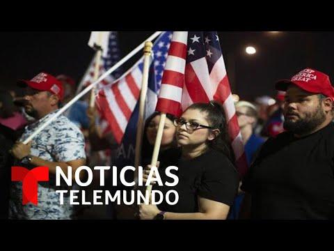 Aumentan las tensiones con simpatizantes de Donald Trump en Arizona | Noticias Telemundo