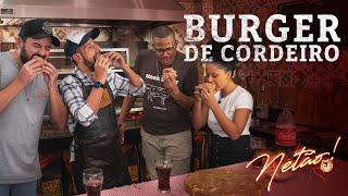 Burger de Cordeiro! | Netão! Bom Beef #77