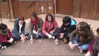 Cup song in Taizé - 2014