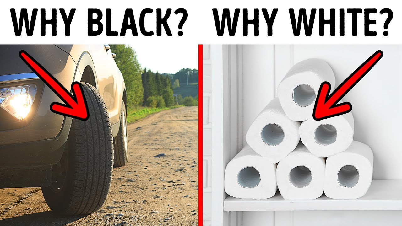 Why Car Tires Are Black and 22 Other Simple Why-s