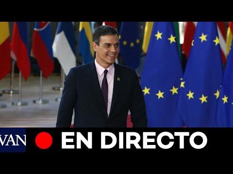DIRECTO: Pedro Sánchez asiste al Consejo Europeo extraordinario