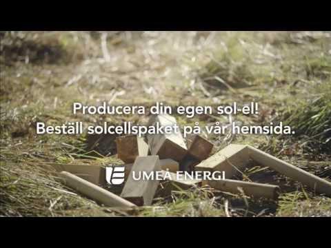 Solceller från Umeå Energi - Reklamfilm - Solen skiner på Dolf och Järven