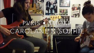 PVRIS - Smoke // Guitar + bass cover // WITH TABS