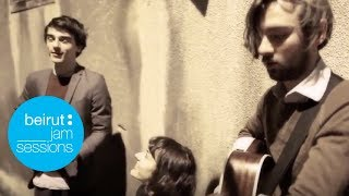 Beirut Jam Sessions | We Were Evergreen - Nightcall  (Kavinsky cover)