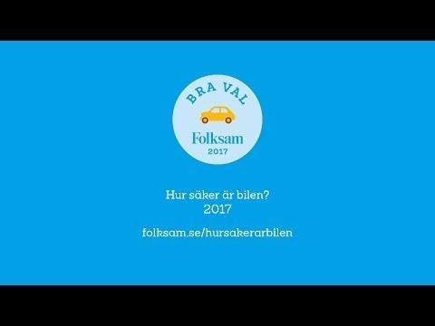 Folksam presskonferens: Hur säker är bilen 2017?