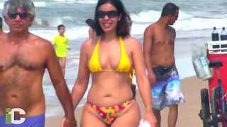 Qué mujeres en las playas de Recife