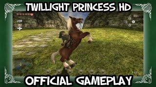 Zelda: Twilight Princess HD Gameplay + Wolf Link amiibo! NINTENDO Direct 2015 13/11