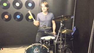 Anika Nilles Chary Life Fill at 1:22 - Drum Lesson