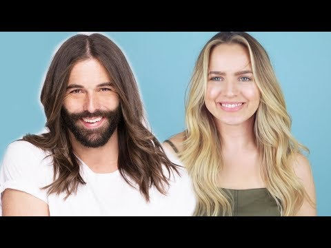 Hairstylist Breaks Down Jonathan Van Ness Gorgeous Waves! – KayleyMelissa