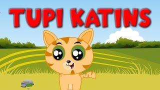Tupi katins ant tvoros | Lietuviškos vaikiškos dainelės | Kitten Song in Lithaunian