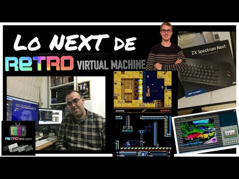 Lo NEXT de Retro Virtual Machine