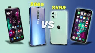 iPhone 11 vs OnePlus 7 Pro   $700 Phone Battle!