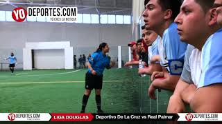 Deportivo La Cruz vs. Real Palmar Final Domingo Liga Douglas 2018