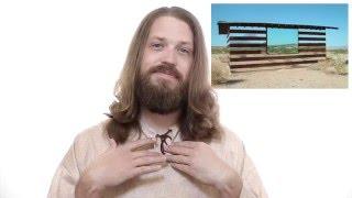 Reflective Philospophy House  - Future Interactive Art of Burning Man 2016