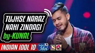 Tujhse Naraz Nahi Zindagi - Kunal - Indian Idol 10 - Salman Ali - 18 November 2018