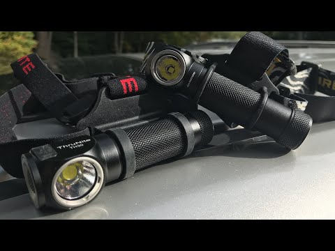 Thrunite TH30 VS. Nitecore HC33 Headlamps & EDC Flashlights