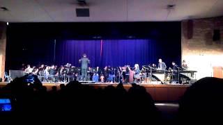 "Nimitz High School Symphonic Band 5/2013 Piece 2 ""Man of Steel"""