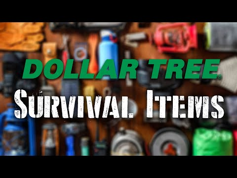 10 Survival Items You Can Buy For Just $1