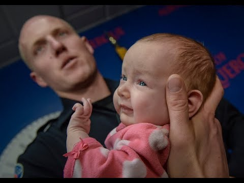 Police officer adopts homeless mother's opioid-addicted newborn