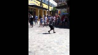 Break dancing in Cabo San Lucas
