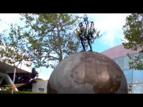 Random Pointless Video: Giant Globe.