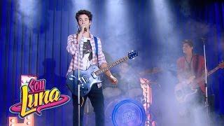Simón, Nico e Pedro cantam Valiente - Momento Musical (com letra) - Sou Luna