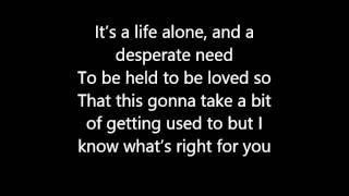 Let me go - Gary Barlow(Lyrics)