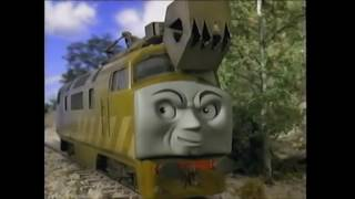 Thomas And The Magic Railroad Diesel 10, Splatter and Dodge Scene (With Sound Effects)