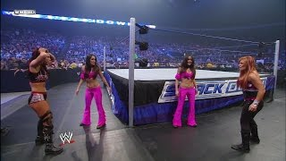 Nikki Bella makes her debut as The Bella Twins' secret is out : SmackDown, Nov. 7, 2008