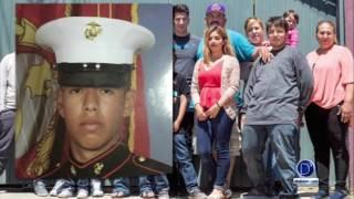 Veterano de la marina visitó el congreso