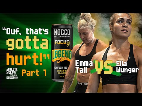 SWEDISH NOCCO CROSSFIT ELITE BATTLE IT OUT! FT. TALL, ELEBRO, KARLSSON, MÄNTYLÄ AND MORE! E01