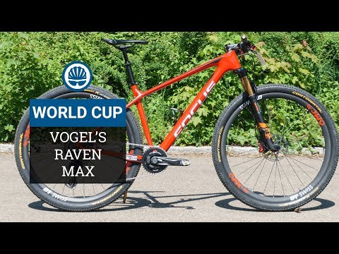 Florian Vogel's Focus Raven Max - Featherweight Custom Hardtail