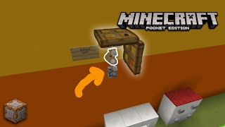 How to make a Working School Bell-Minecraft Pocket Edition