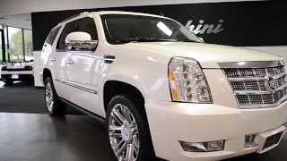 2013 Cadillac Escalade Platinum edition White Diamond LT0572