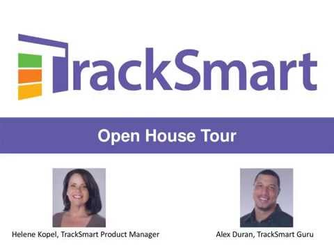 Open-House Tour of the TrackSmart Suite 9-16-2015