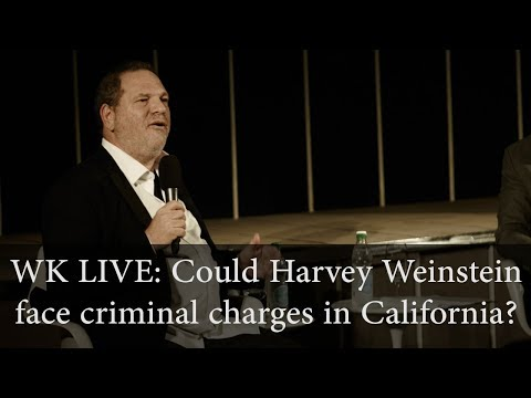 Could Harvey Weinstein face criminal charges in California?
