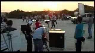 FONZIE - Crashin' Down (making the video 2007)