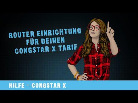Hilfe-Video: Router Einrichtung für deinen congstar X Tarif