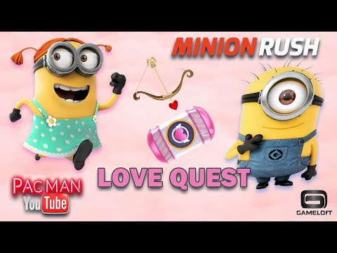 Minion Rush Love Quest Event Cupid New Update Gameplay