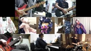 [HD]Hanayamata OP [Hana wa Odore ya Irohaniho] Band cover