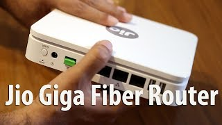 Watch Jio Giga Fiber Router