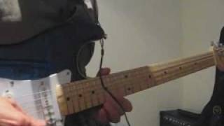 Digitech RP355 test - $80 Chinese Guitar (Based on Stratocaster) - recorded with Cubase
