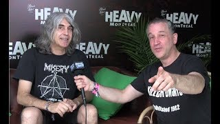 Voivod Away-Talks New Album 'The Wake' Jason Newsted, Terry Brown @Heavy Montreal width=