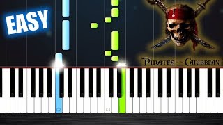 He's a Pirate - EASY Piano Tutorial by PlutaX
