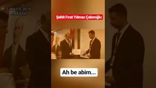 Şehit Fırat Yılmaz Çakıroğlu Ve Ülkü Ocakları Genel Başkanı Olcay Kılavuz