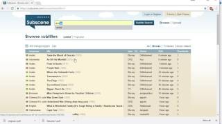 HOW TO DOWNLOAD SUBTITLES FOR MOVIES IN TELUGU