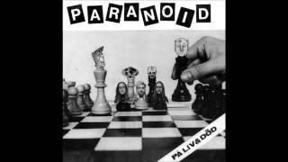 偏執症者 (Paranoid) - Ubåten. Cover of the April Fool's day